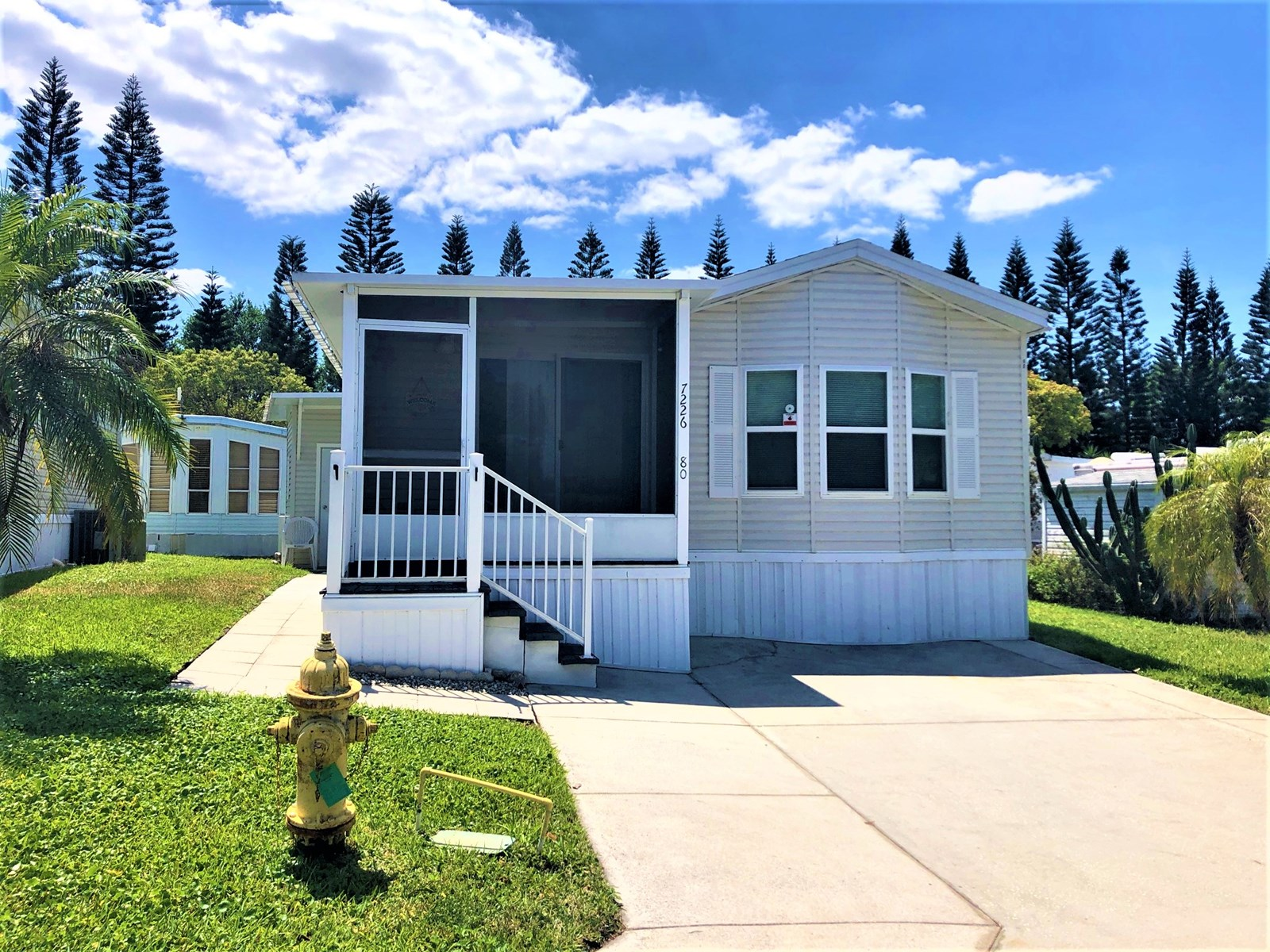 55+COMMUNITY, 2/1 MOBILE HOME FOR SALE, CENTRAL FL RV RESORT