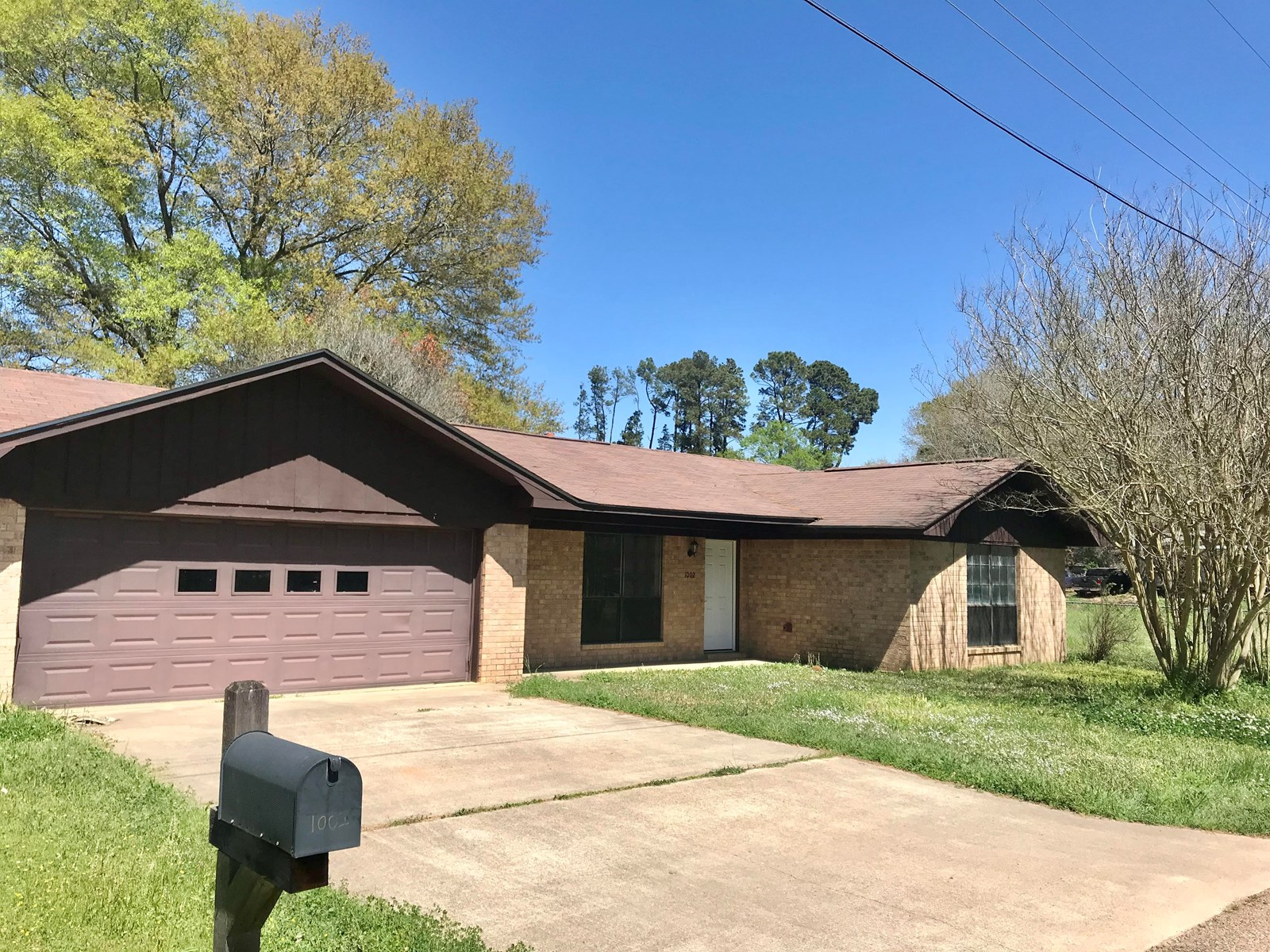 Ranch Style Brick Home for Sale in Atlanta, Texas