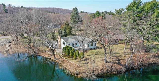 Waupaca County Crystal River Mill Pond Home For Sale