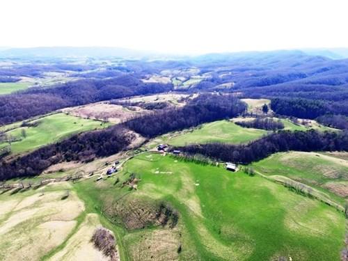 468 Acre Farm For Sale In Rural Retreat, VA