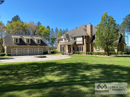 Equestrian Ranch & Luxury Home For Sale in Jasper County, SC