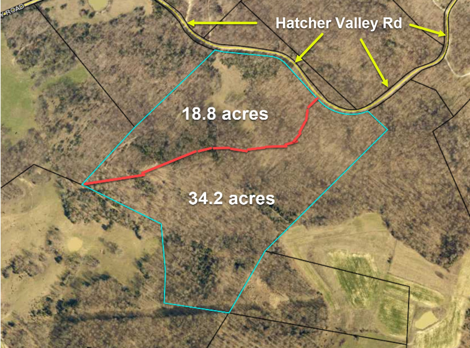 Hunting Land, Hart County KY, Easy Access from Freeway