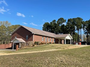 CHURCH BUILDING & LAND FOR SALE CHEROKEE VILLAGE ARKANSAS