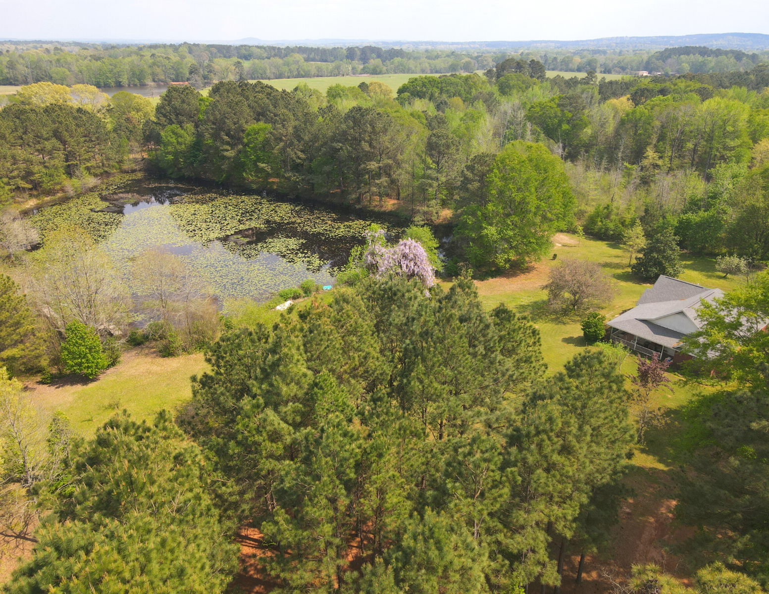Country Home with acreage for sale Cass County, TX