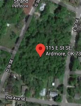 Almost 2 ACRES in ARDMORE CITY!