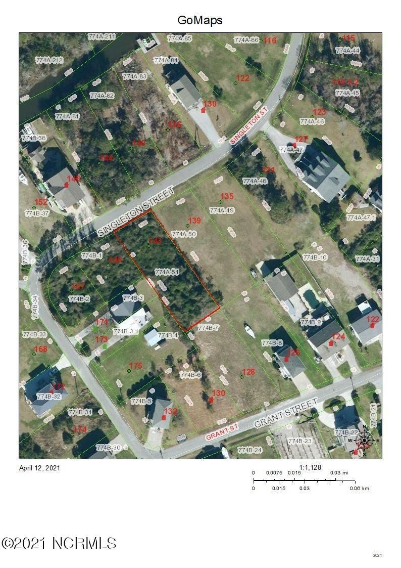 Lot for Sale in Sneads Ferry, Chadwick Acres