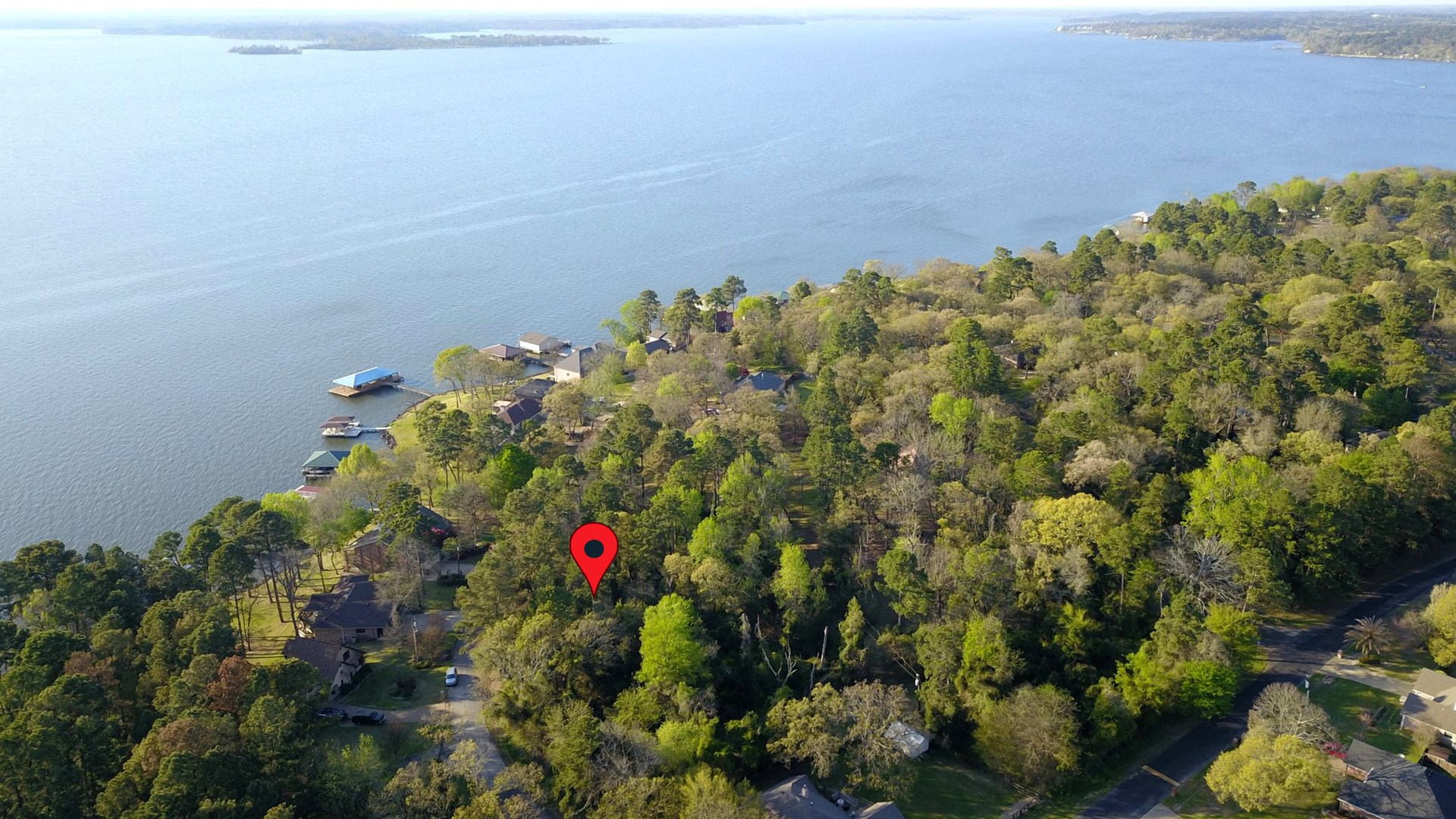 VACANT LOT FOR SALE LAKE PALESTINE | WATER VIEW LOT FOR SALE