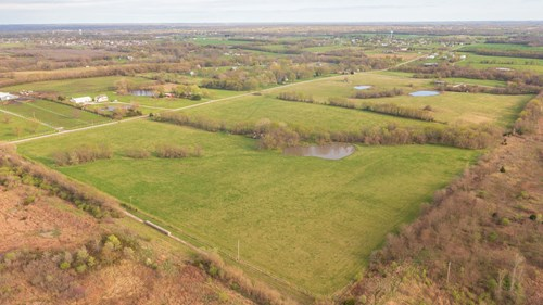 Awesome Build Site on Acreage Close to Town in Cass County