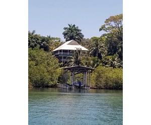 Coastal Caribbean Off Grid Home in Bocas del Toro, Panama