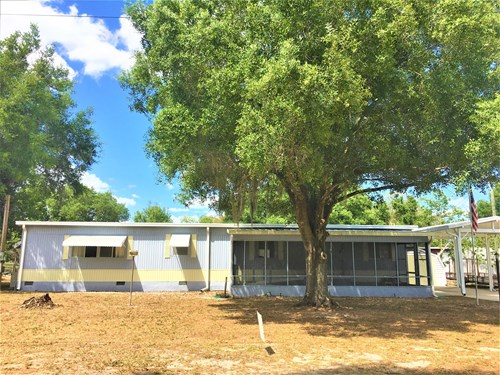 2/2 MOBILE HOME, 0.34 ACRE OF LAND, OWN YOUR LOT, CENTAL FL