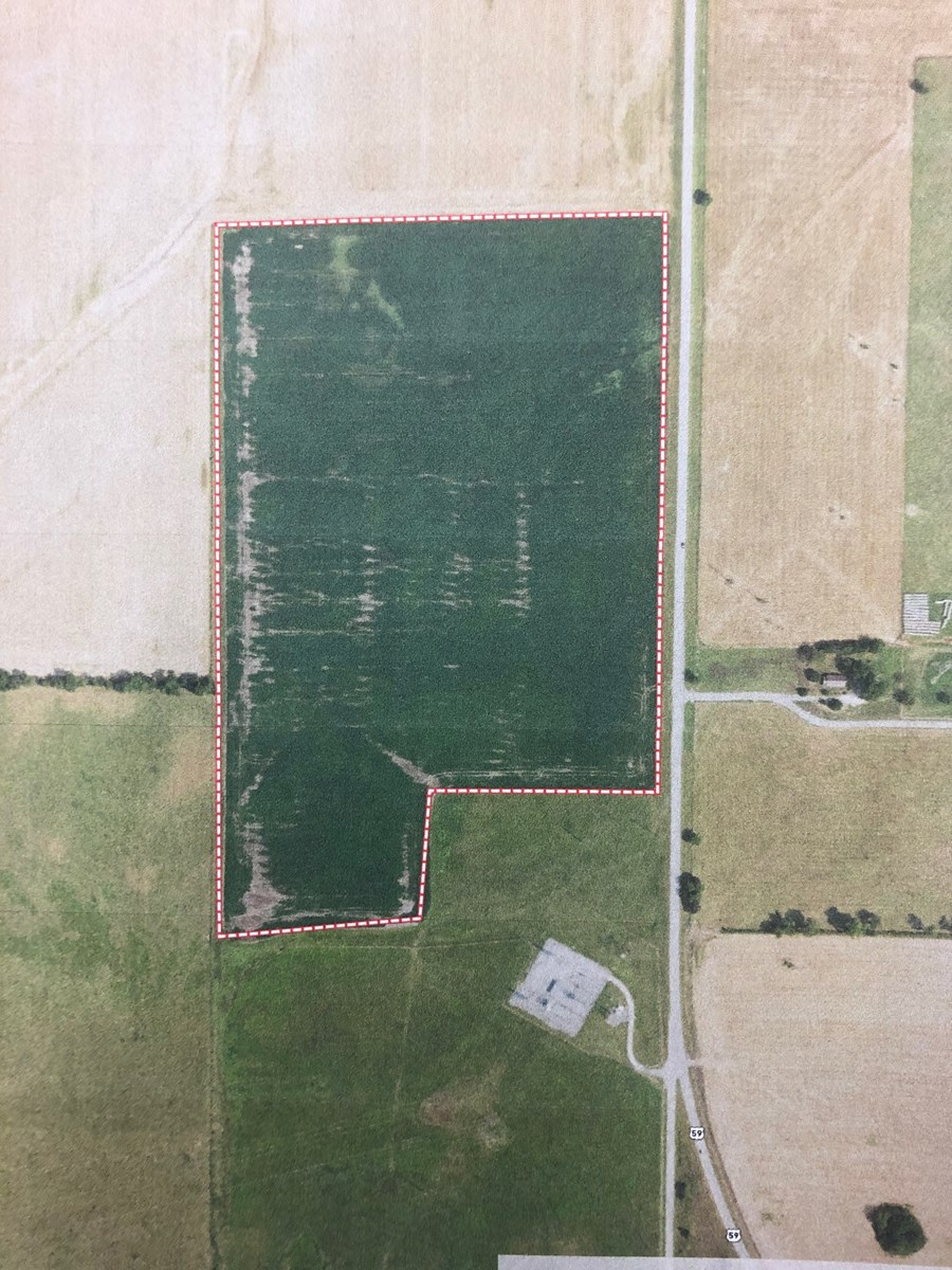 VERY NICE CROPLAND FOR SALE IN NORTHEAST OKLAHOMA NEAR AFTON