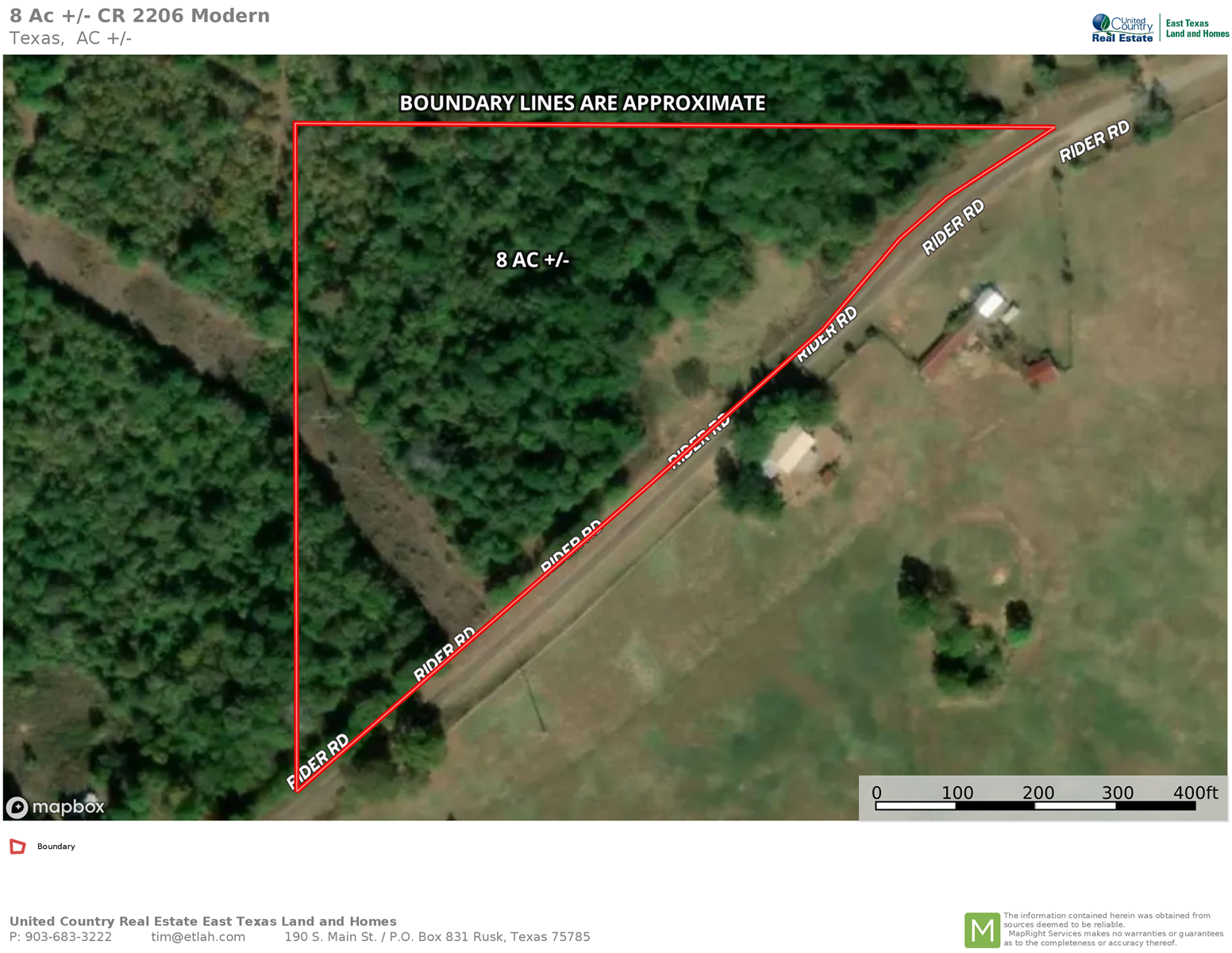 East TX Land for sale, Rusk, TX land for sale
