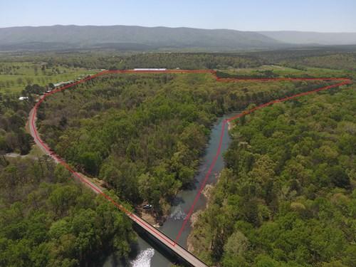 Blackfork River Frontage Recreational Property