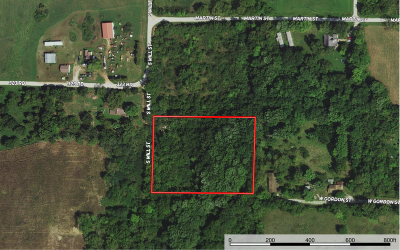 Wooded Land for Sale in Cedar County