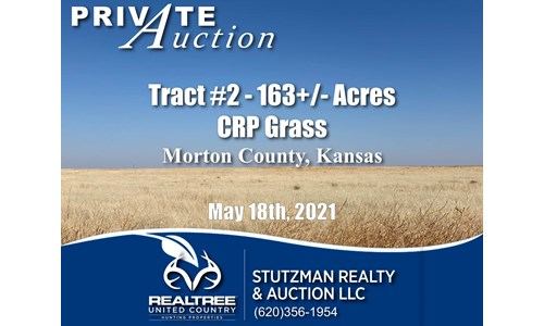 MORTON COUNTY, KS ~ TR #2 CONSERVATION RESERVE PROGRAM (CRP)