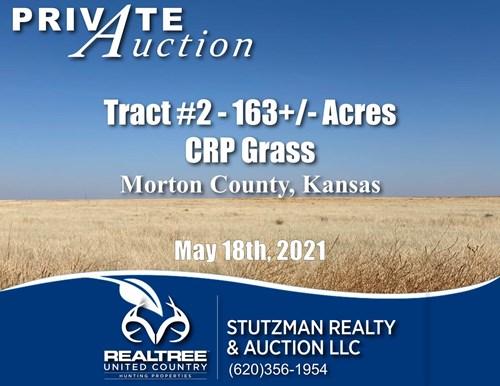 MORTON COUNTY, KS ~ TR #2 CONSERVATION RESERVE PROGRAM (CRP)