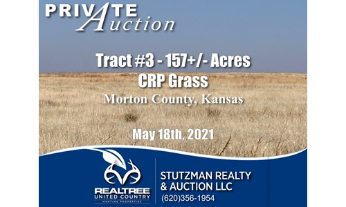 TR #3 - 157+/- ACRES - Morton CO. KS