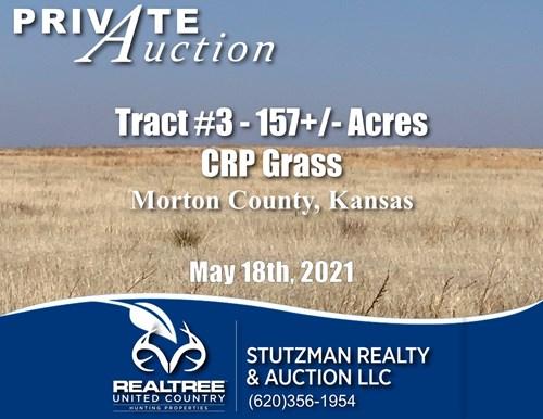 TR #3 - 157+/- ACRES - Morton CO. KS