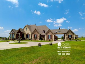 FARM & RANCH WITH LUXURY HOME FOR SALE IN WANETTE, OK