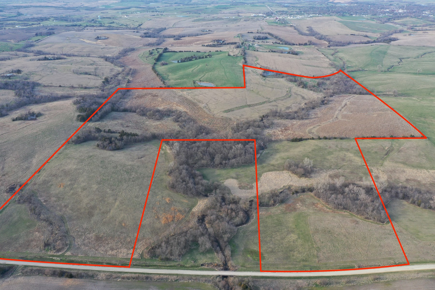 LAND FOR SALE IN SOUTHERN IOWA WITH CRP INCOME & HUNTING
