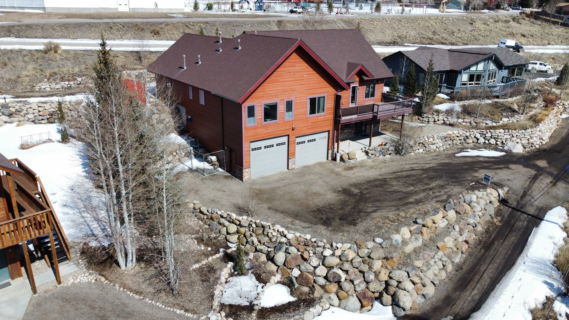 Top Home in Granby with Mountain Views and Southern Exposure