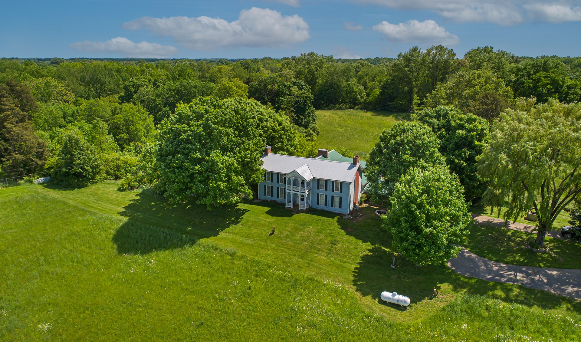 Beautiful 1800's Home (Partial Log Cabin) & 23.86 Acres