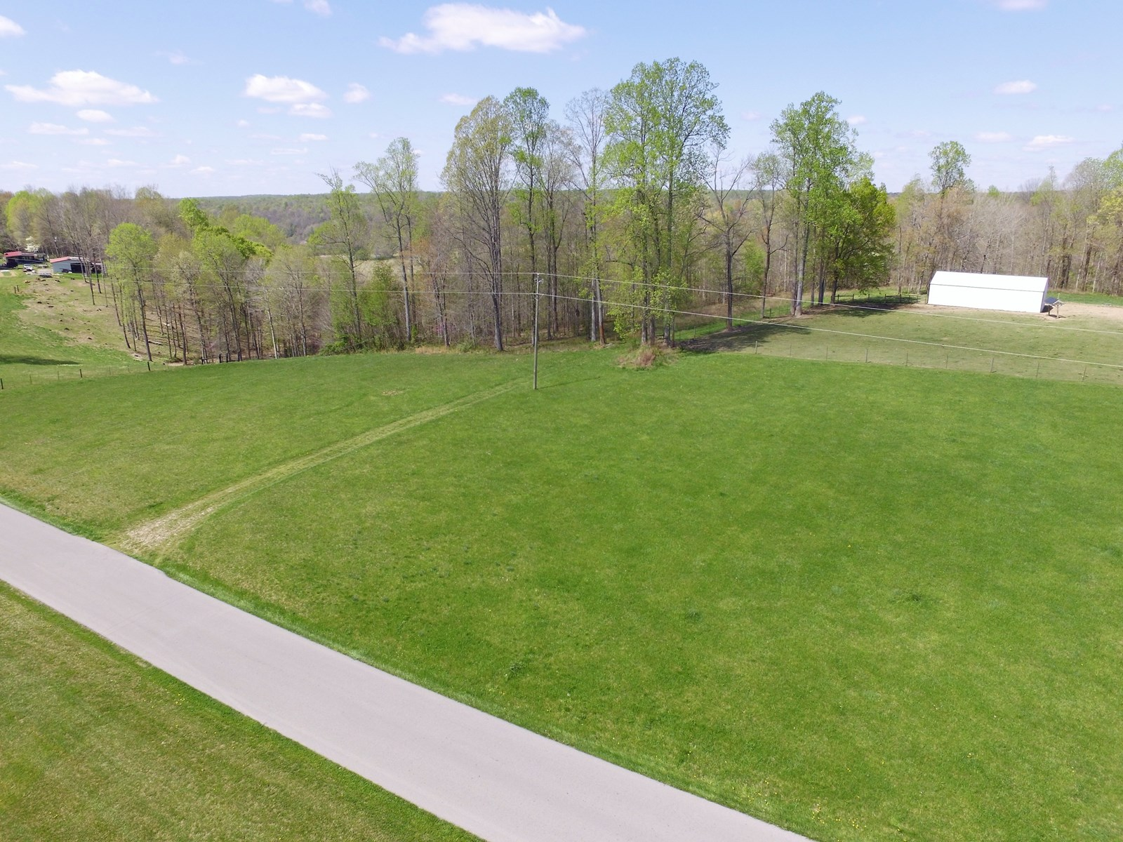 BUILDING LOT-CLEARED & WOODED ACREAGE-LIBERTY KENTUCKY