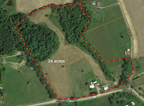 Amish Built Home, Outbuildings, 24 Beautiful Acres, Old Barn