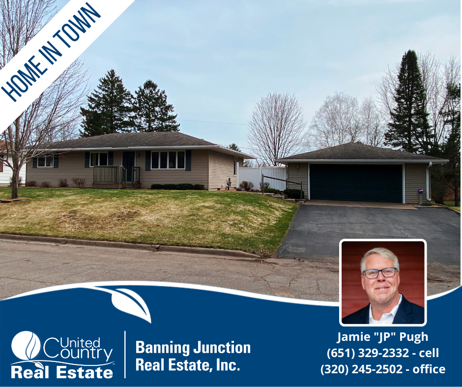 4 Bedroom Home For Sale in Town, Sandstone, MN