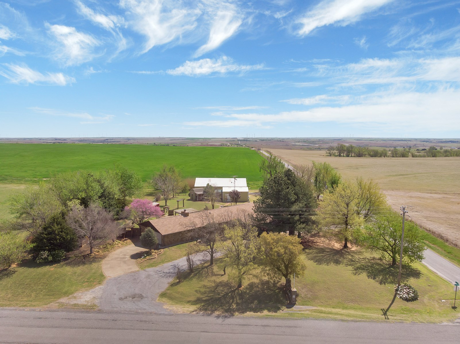 Western Oklahoma Country Home for Sale