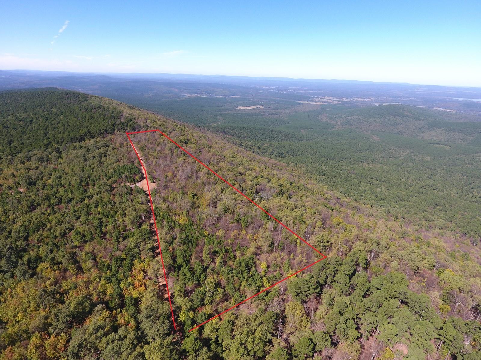 Blue Mountain Recreational Propert Adjoining National Forest