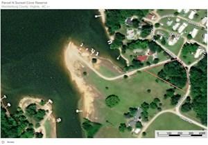 SUNSET VIEWS FROM YOUR LAKE LOT ON KERR LAKE, VA