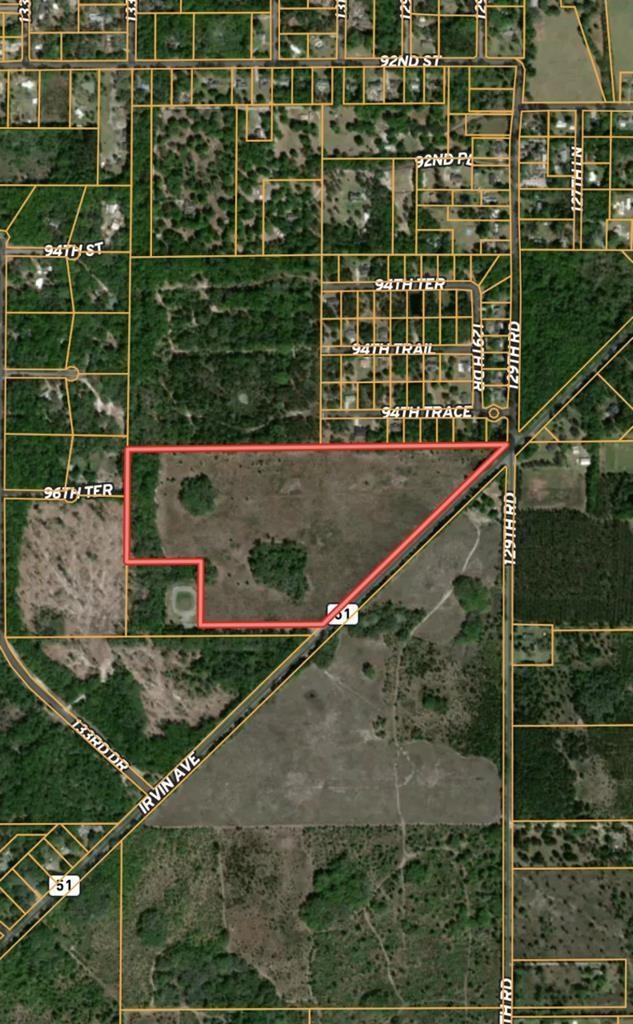 Gorgeous 52.43 acres in prime location.