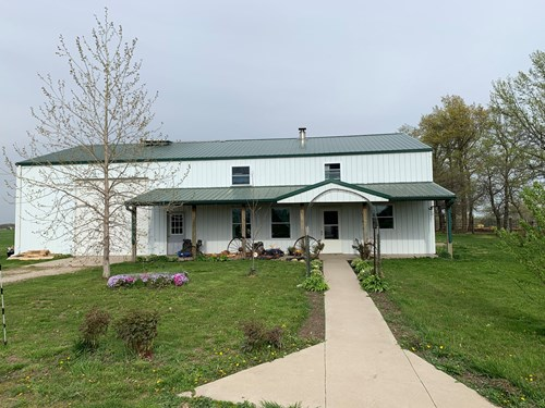 Norhtern MO Farm For Sale With Home
