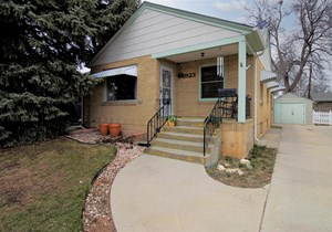 HISTORIC HOMES FOR SALE GREELEY COLORADO WELD COUNTY W/SHOP