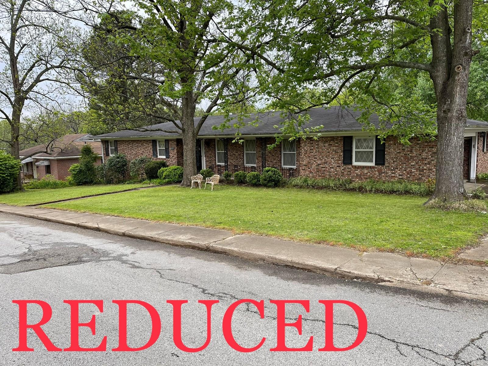 PRICE REDUCED! Brick Home In Pocahontas Arkansas