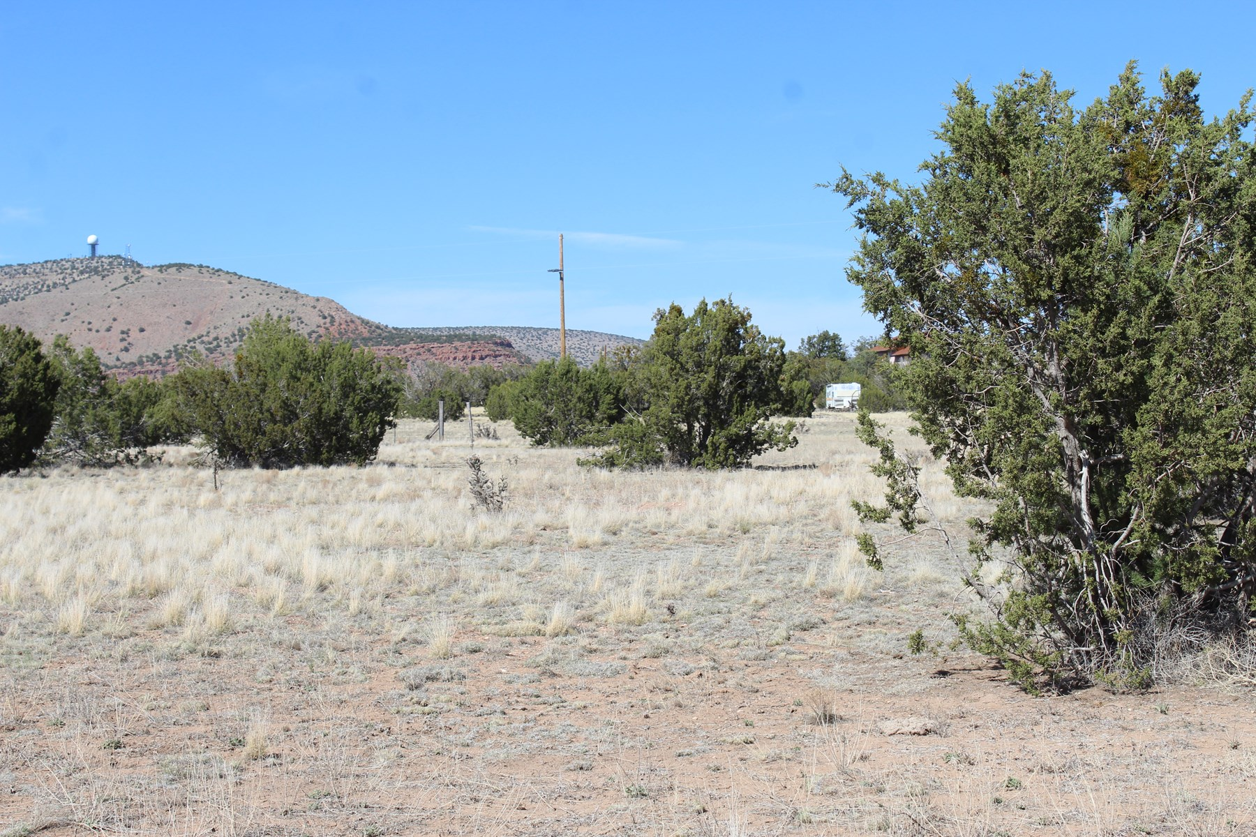 Two Acres for Sale Near Pavement and Power Seligman AZ