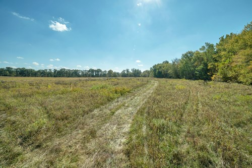 Hunting farm with CRP income in Ralls County, Missouri