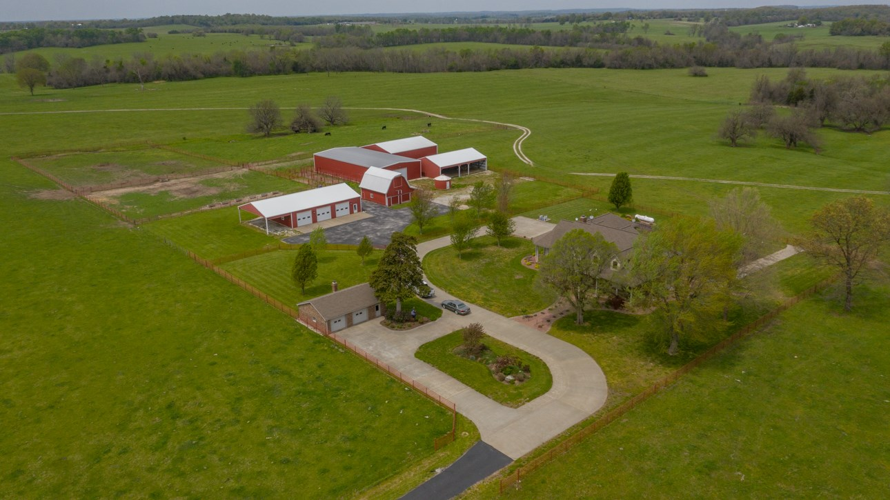Cattle Ranch & Farm with Home For Sale in Cedar County, MO