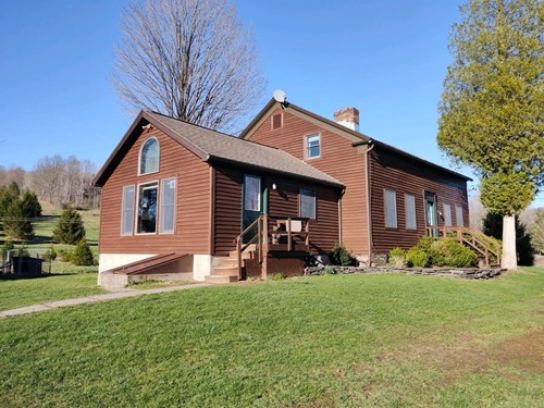 1840's REMODELED COUNTRY HOME