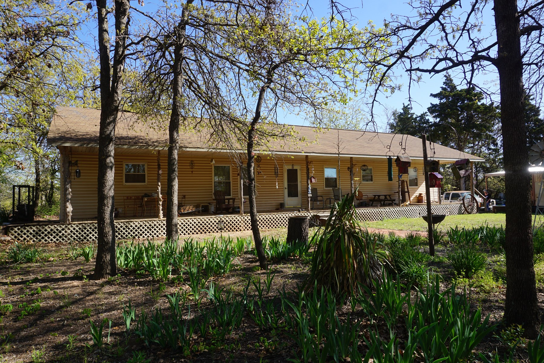 No Reserve Auction, Home on 30 Ac, Carney, OK May 16 @ 2:30