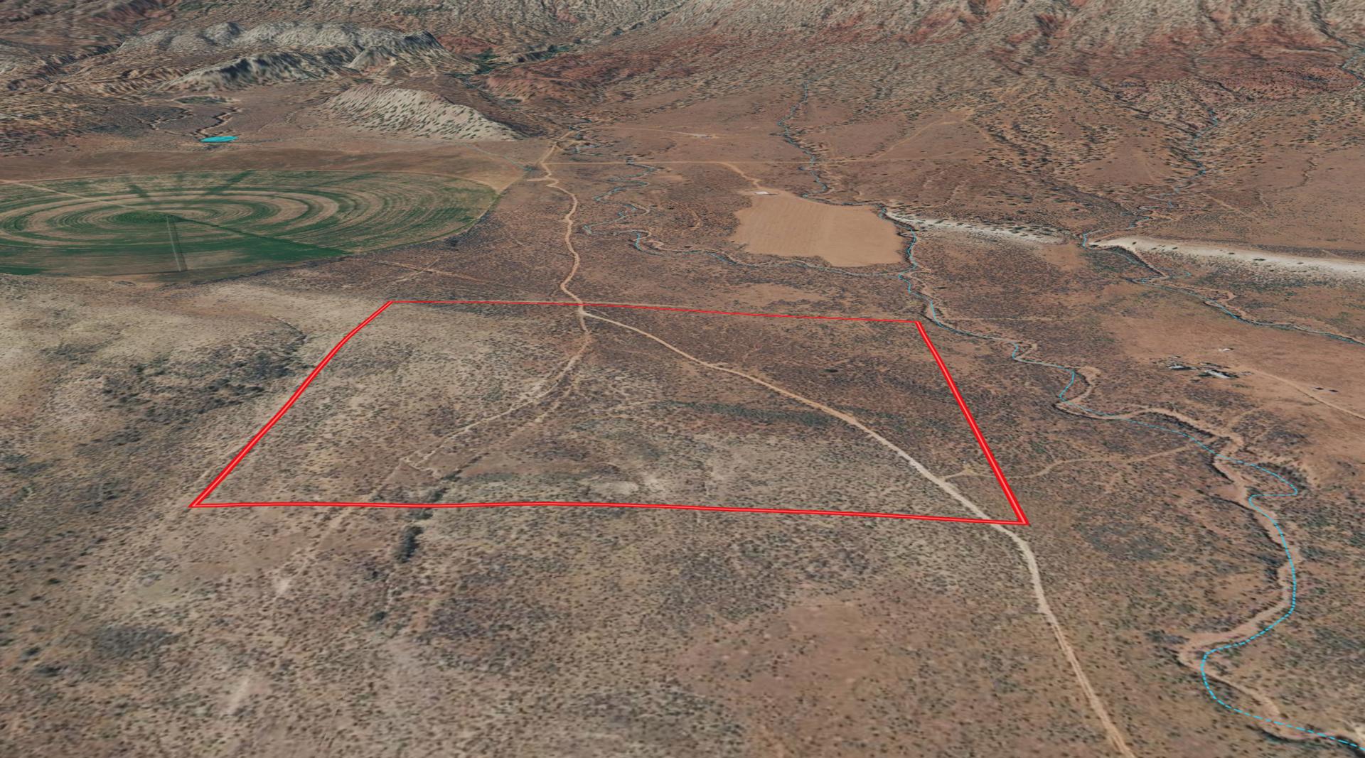 Colorado Mountain Desert Land For Sale with Canyon Views