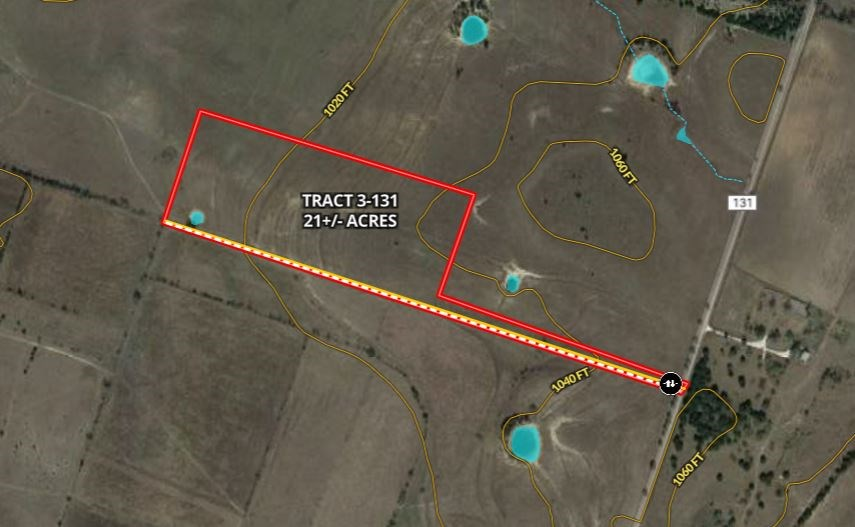 Land for Sale in Central Texas - 21 Acres