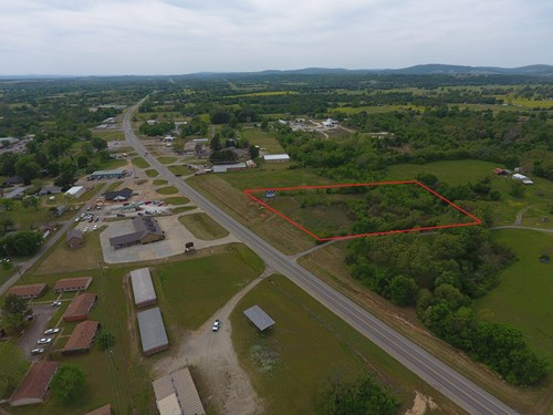 1.84 Acre Commercial Property – US Hwy 271 Frontage