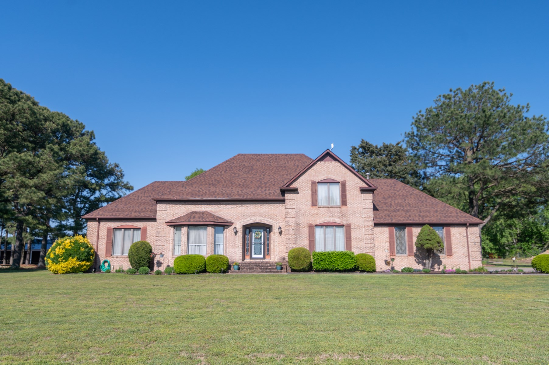 Custom Home with View of the Perquimans River