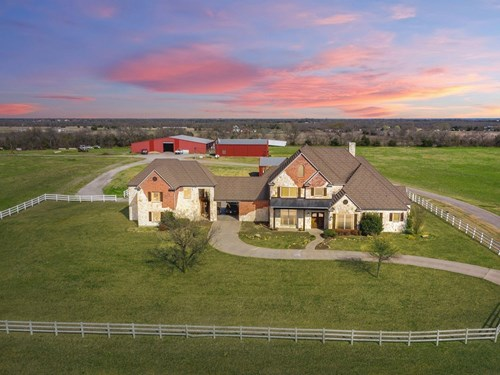 Northeast Texas Collin County Ranch in Blue Ridge