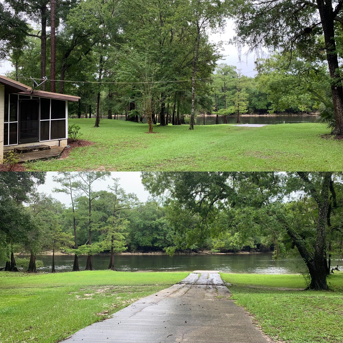 SANTA FE RIVERFRONT HOME  WITH PRIVATE BOAT RAMP  $399,900!!