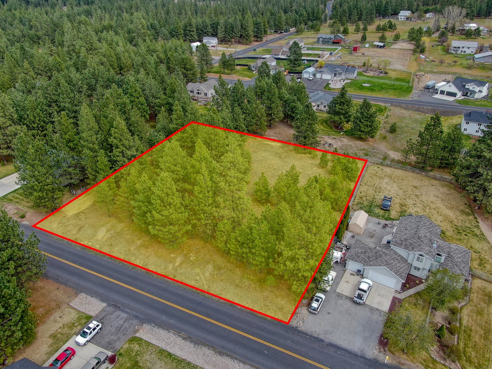 One acre lot ready for you to build Your Dream Home!