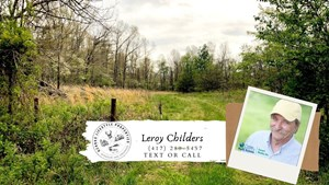 LAND FOR SALE IN THAYER, MISSOURI