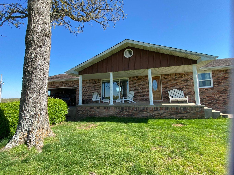 Brick Home & Farm in Ozark County MO near Lakes and Rivers